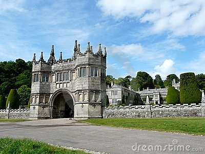 Entrance at Lanhydrock Castle