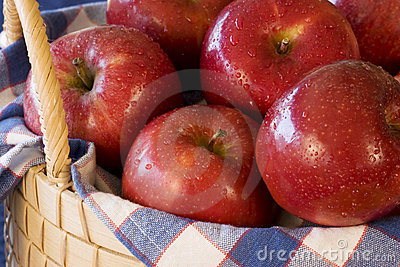 Apples in Basket - horizontal