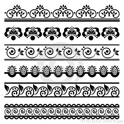 Decorative border set 1