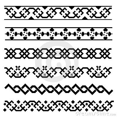Decorative border set 2