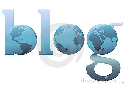 The whole big blue blog world wide web earth