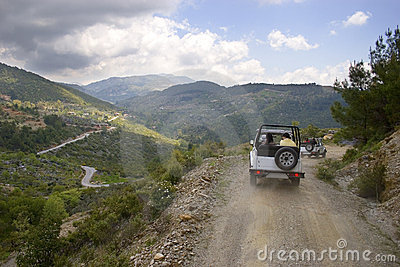 Turkey's jeep safari