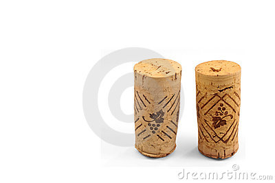 Two isolated corks