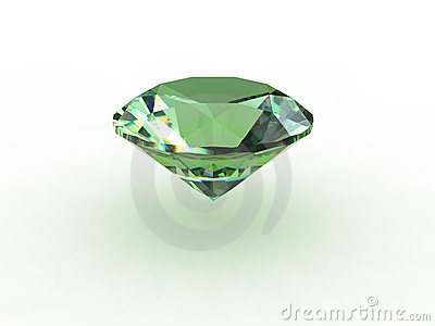 Green Round Topaz Gemstone