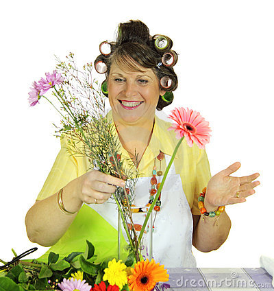 Flower Arranging Housewife