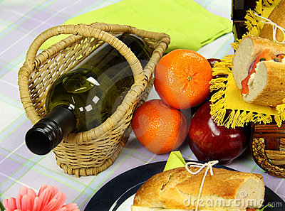 Wine And Picnic