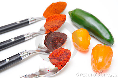 Chili Powder And Peppers
