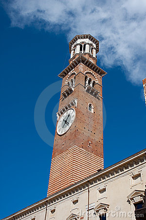 Bell tower in Verona