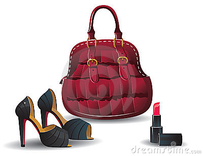 Fashion bag and shoes