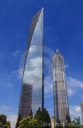 Shanghai world finance center