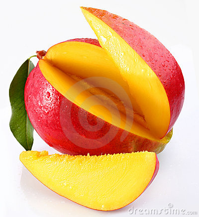 Mango with lobules