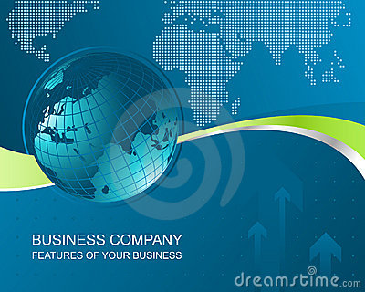 Business background abstract