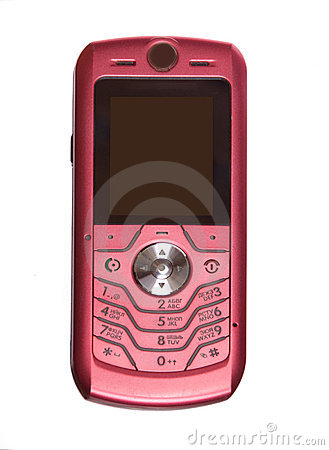 The pink phone