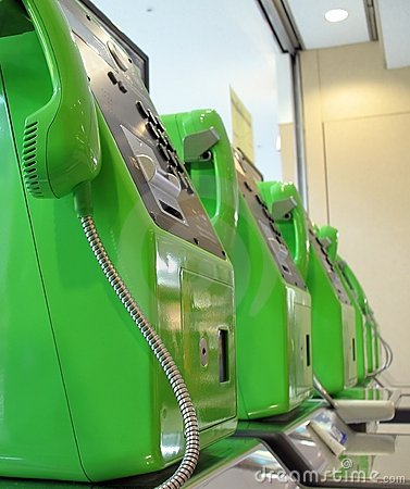 Green Telephones