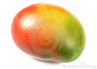 The mango fruit isolated