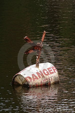 Danger buoy