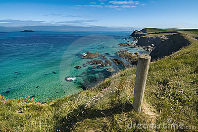 Trevone - Cornwall Coastline UK
