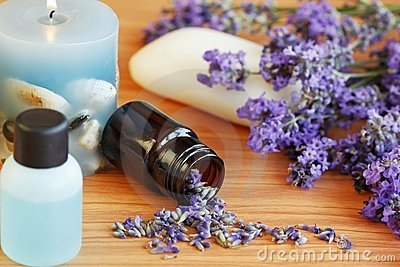Lavender herb and bath