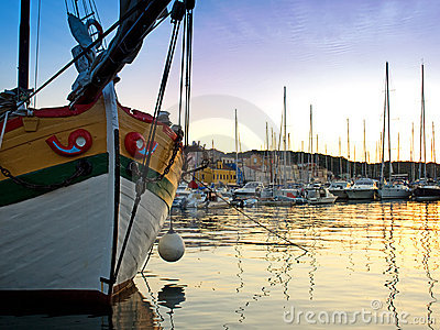 Harbor of Losinj