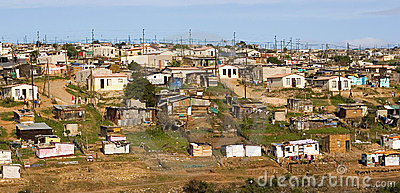 Informal settlement South Africa