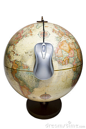 World is a mouse click away