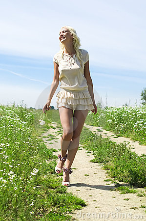 Summer walking