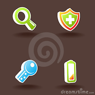 Vector web icons. Set 4.
