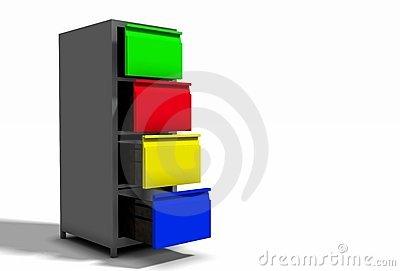 Colourful Cabinet