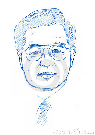 Hu Jintao portrait - Pencil Version