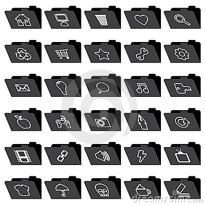 Application folder icons