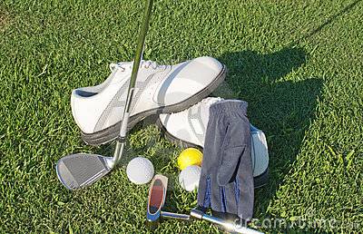 Equipment and accessories for golfers