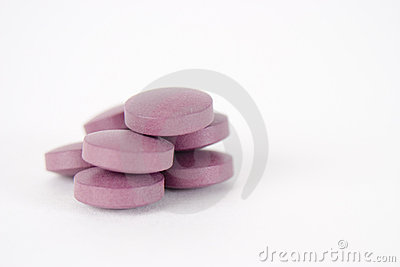 Stack of Purple Pills