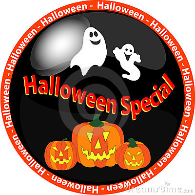 Halloween special button 1
