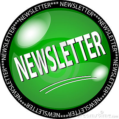 Green newsletter button