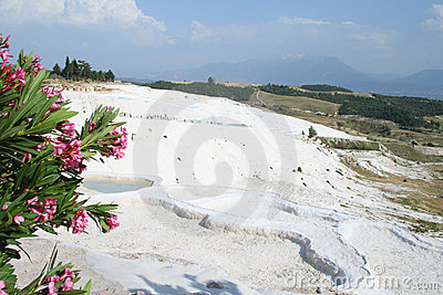 View of Pamukkale.