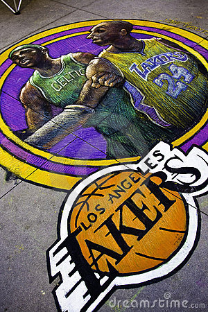 Los Angeles Lakers - Kobe Bryan & Kevin Garnet