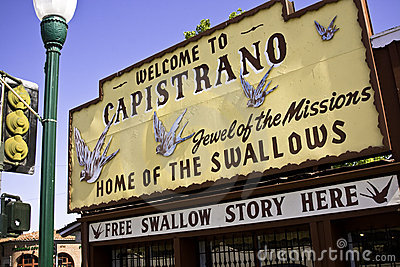 Capistrano - Home Of The Swallows
