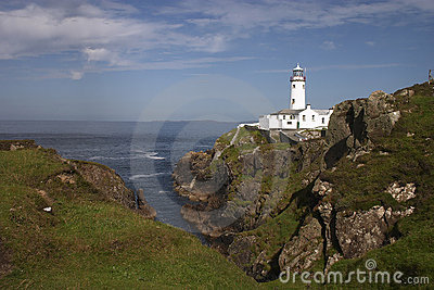 Fanad lighthouse in Donegal - Ireland
