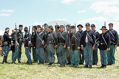 Union Soldiers Ready