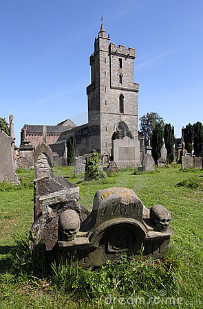 Holyrood Kirk and Valley Cemetery, Stirling