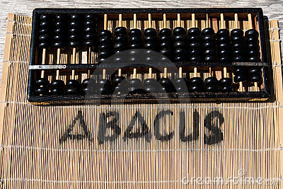 Historical abacus