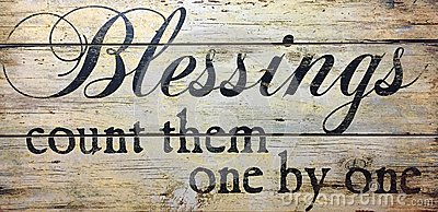 Blessings count them one by one