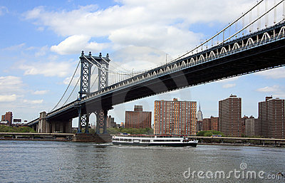 Bridge in Manhattan