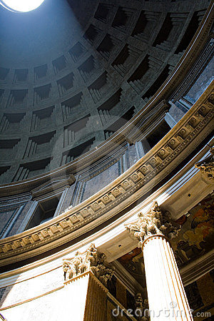 Sun in Pantheon
