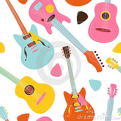 Guitar pattern design