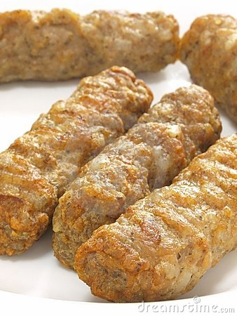 Gourmet meat sausages