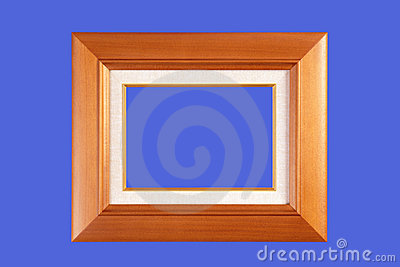 Quad-rate woody fashioned picture frame