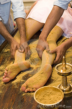 Indian  foot massage