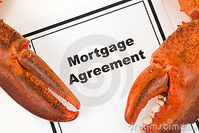 Lobster Claw and Mortgage Agreement