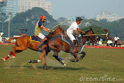 Polo Game of Kolkata-India